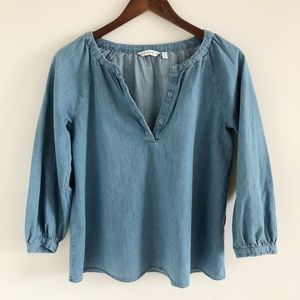 🆕 & Other Stories Chambray Blouse Size 4